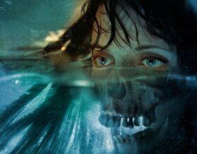 David Seidman Digital Painting Woman Half Skull Face