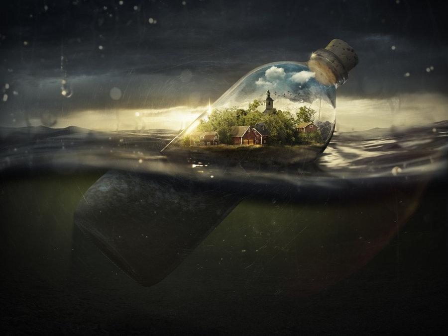 Erik Johansson Surreal water photography