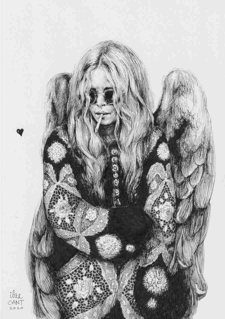 Ilze Cant Angel illustration
