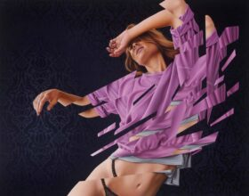 James Bullough painting