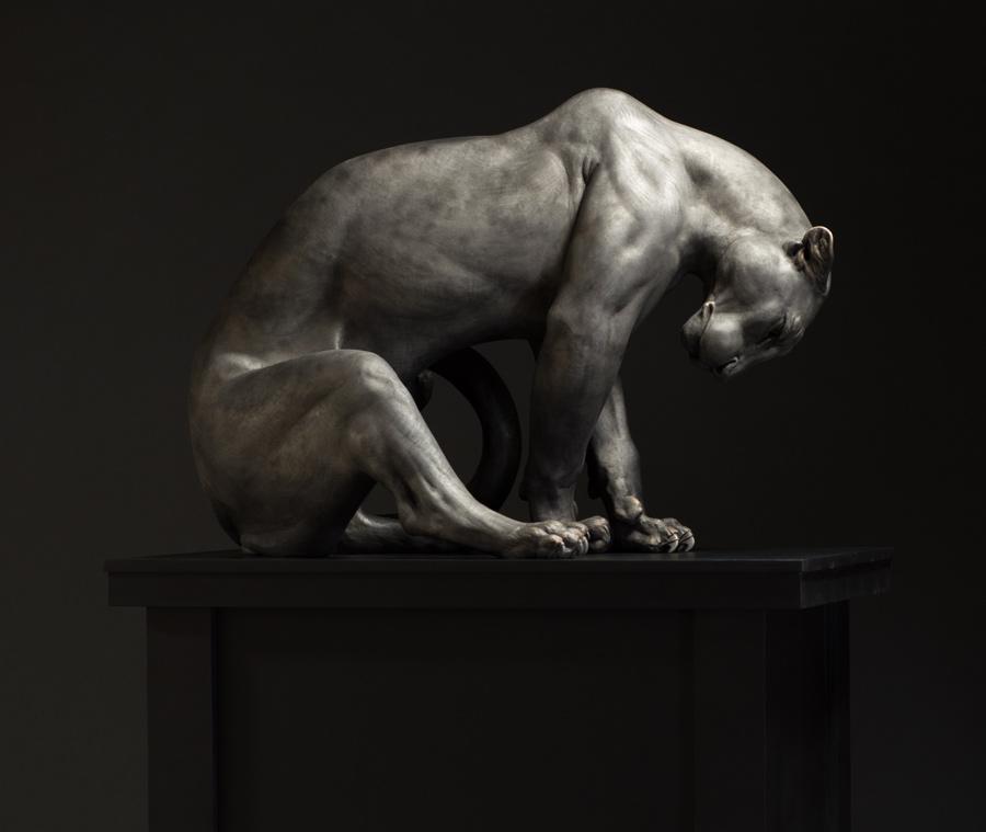 Adam Matano bronze sculpture
