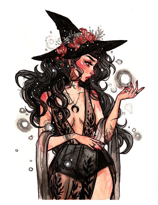 Jacquelin DeLeon watercolor digital art