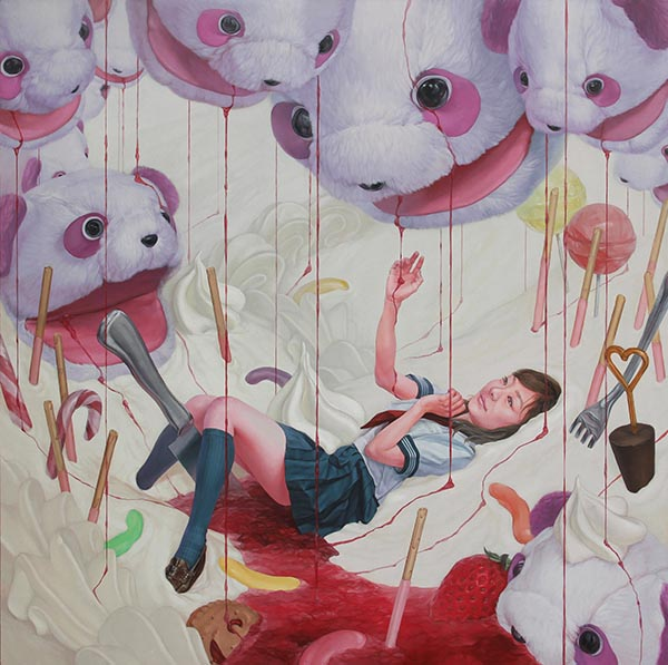 kazuhiro hori surreal painting