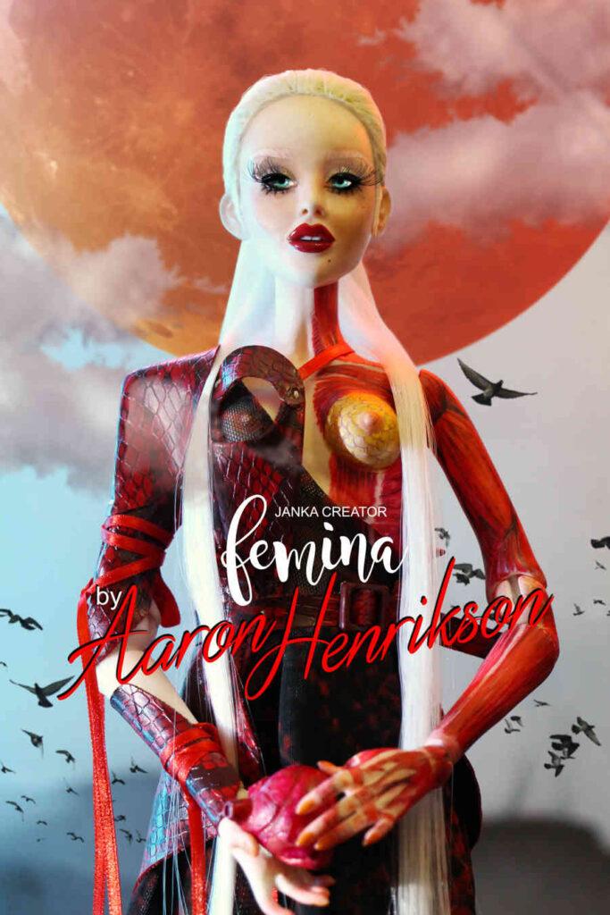 FEMINA Janka Creator balljoint doll