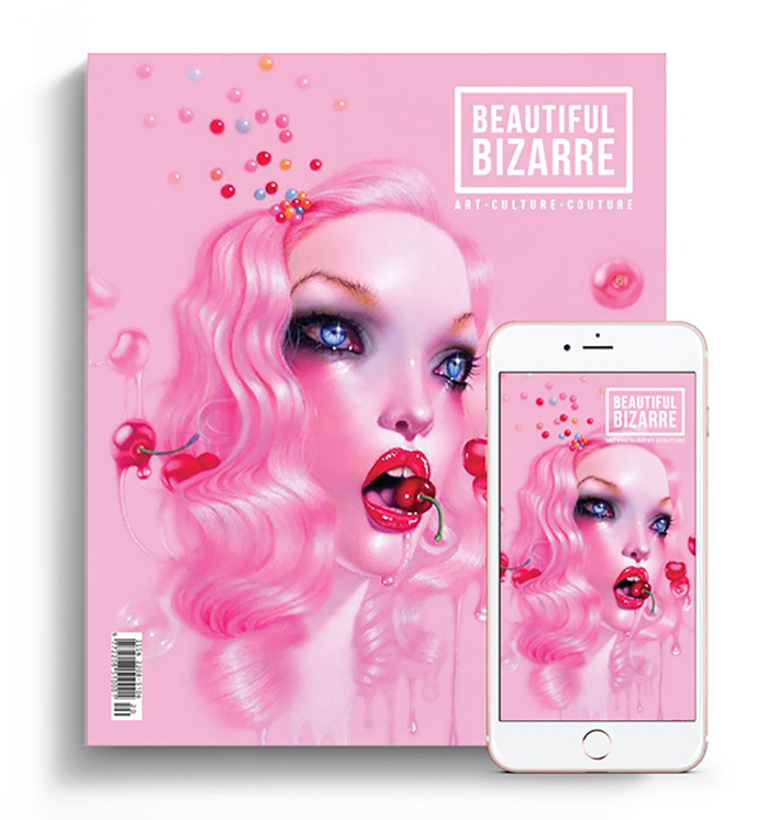 Beautiful Bizarre Magazine - September Issue 26 - troy brooks