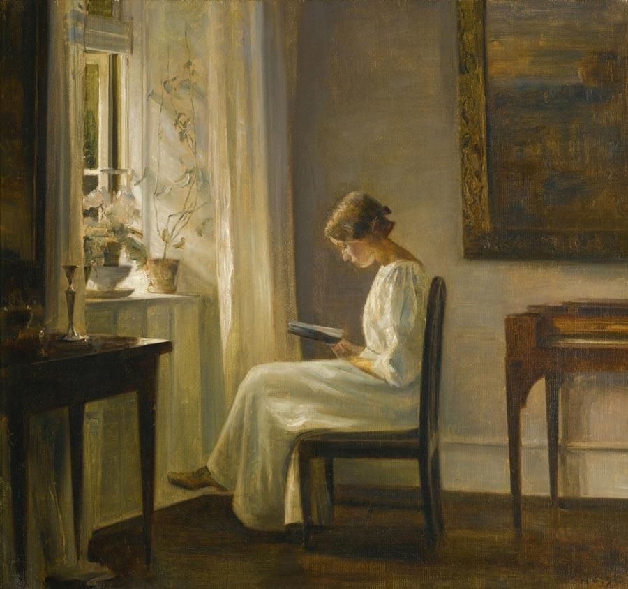 Carl Holsoe Danish painting