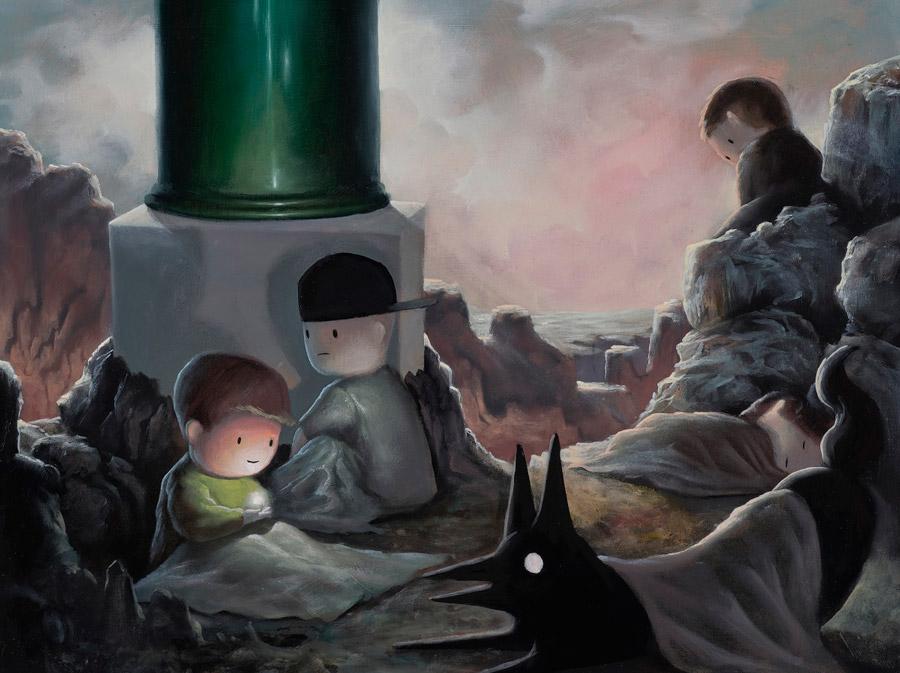 Giorgiko - Peace of Mind surreal painting