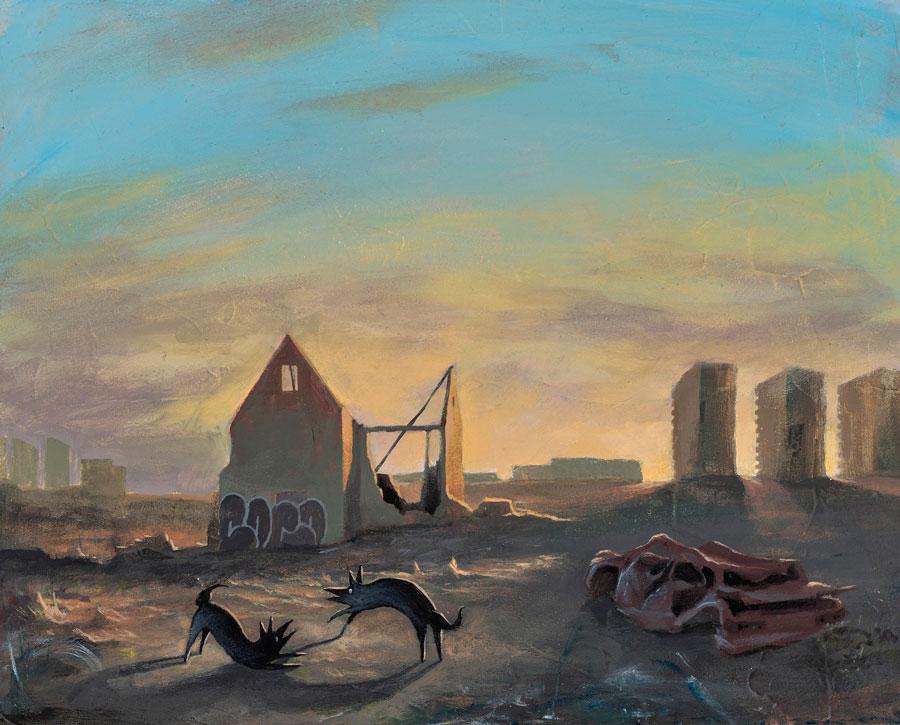 Giorgiko - Playground narrative illustration