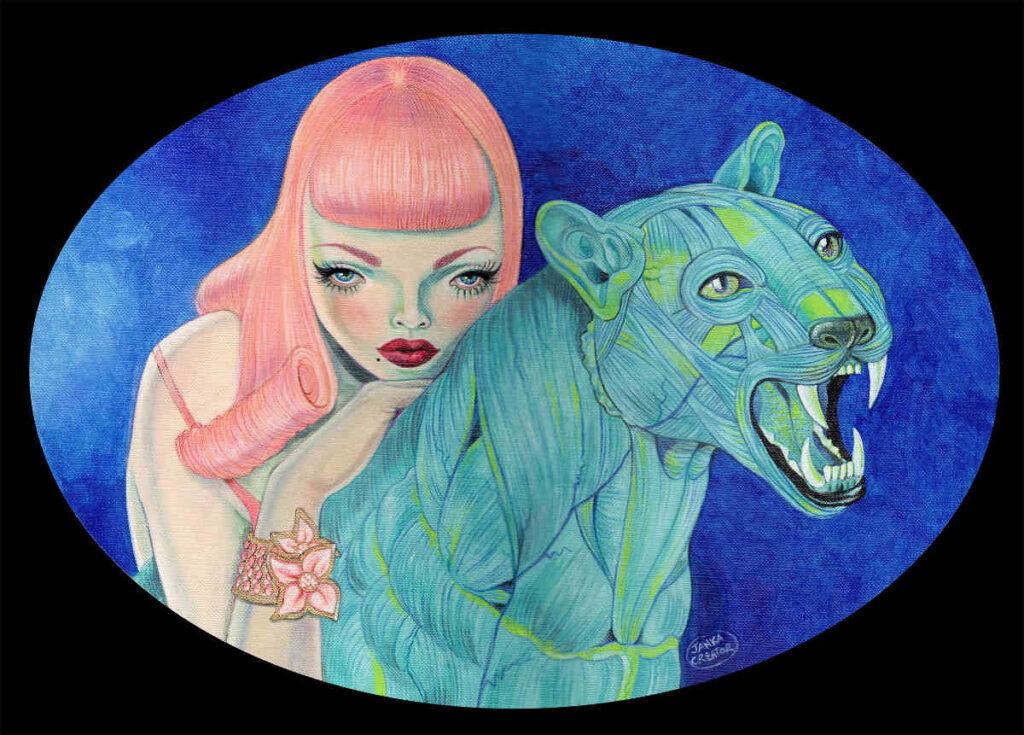 ANATOMICA animal painting