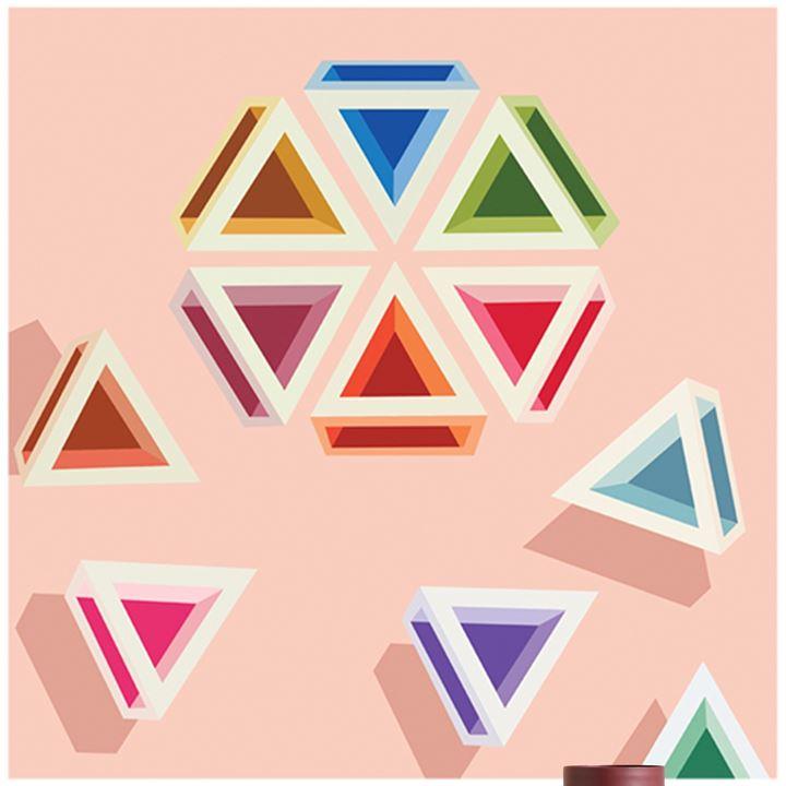 Jasmine Mansbridge geometric art Studio Gallery