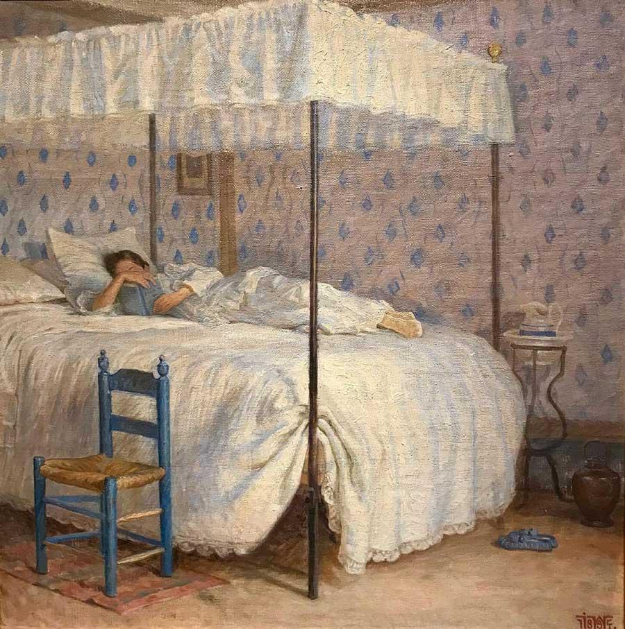 Johannes Wilhjelm Danish painting