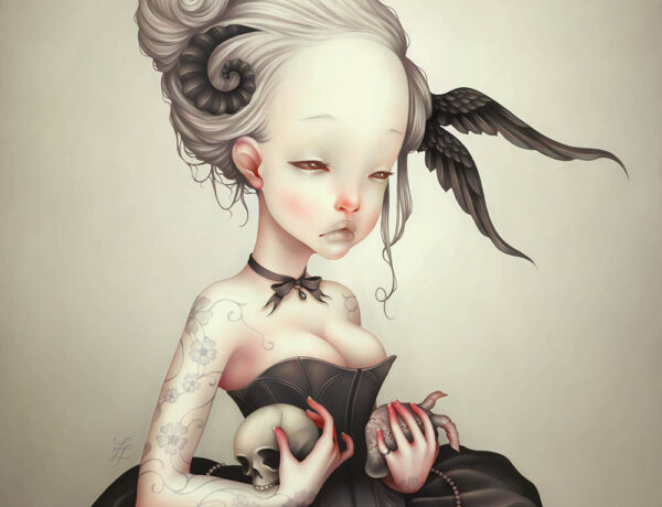 Lostfish - Beautiful Bizarre art magazine - digital painting