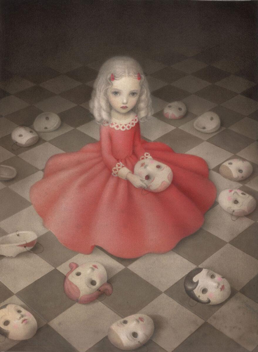 Nicoletta Ceccoli storybook painting
