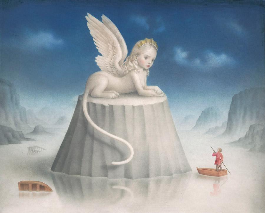 Nicoletta Ceccoli surreal painting