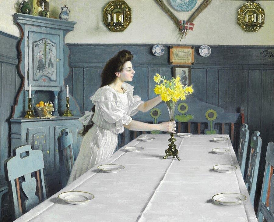 Paul Fischer Danish painting