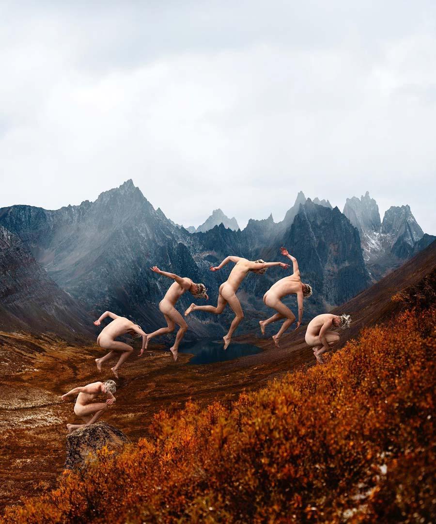 Rob Woodcox conceptual male nude photography