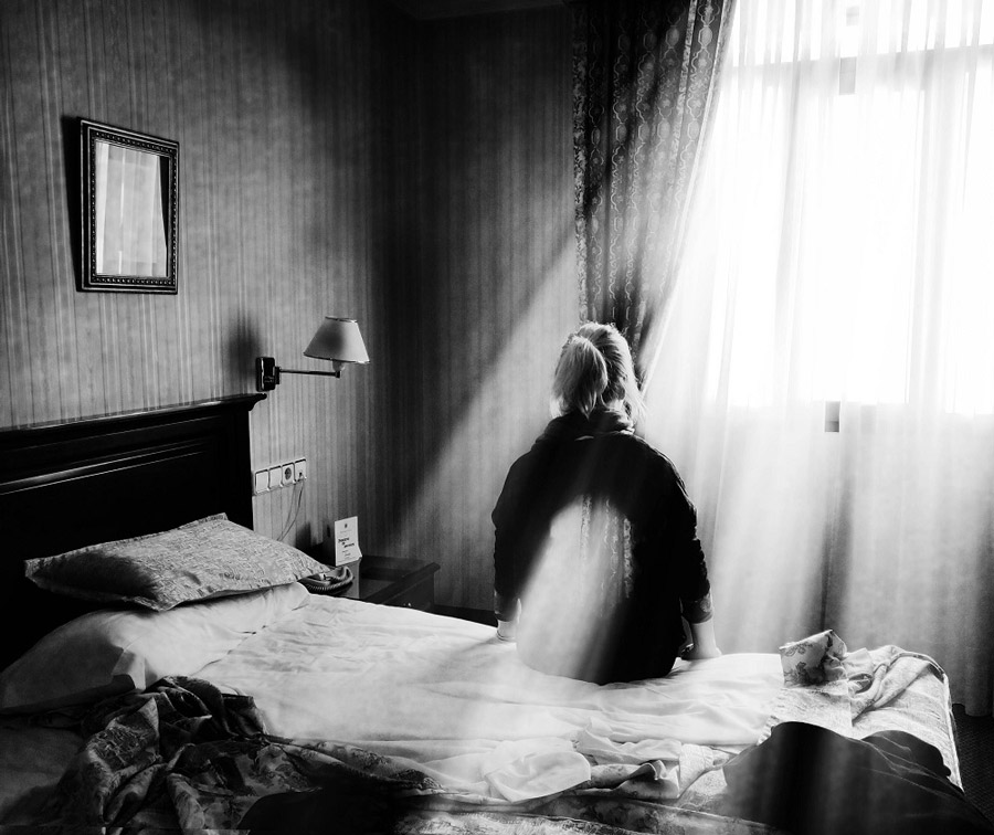 Velmock surrealistic black and white photography