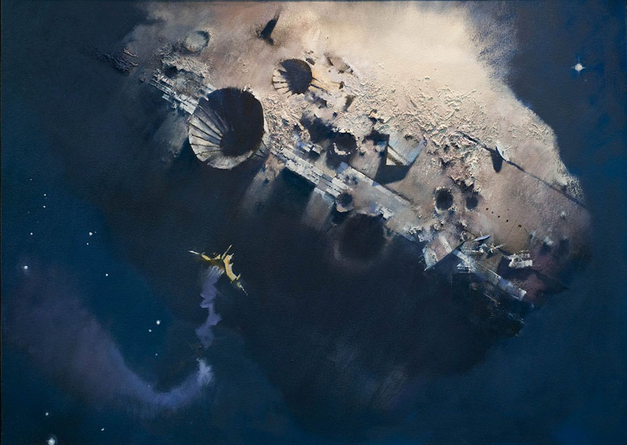 John Harris Gully Foyle's Fate painting