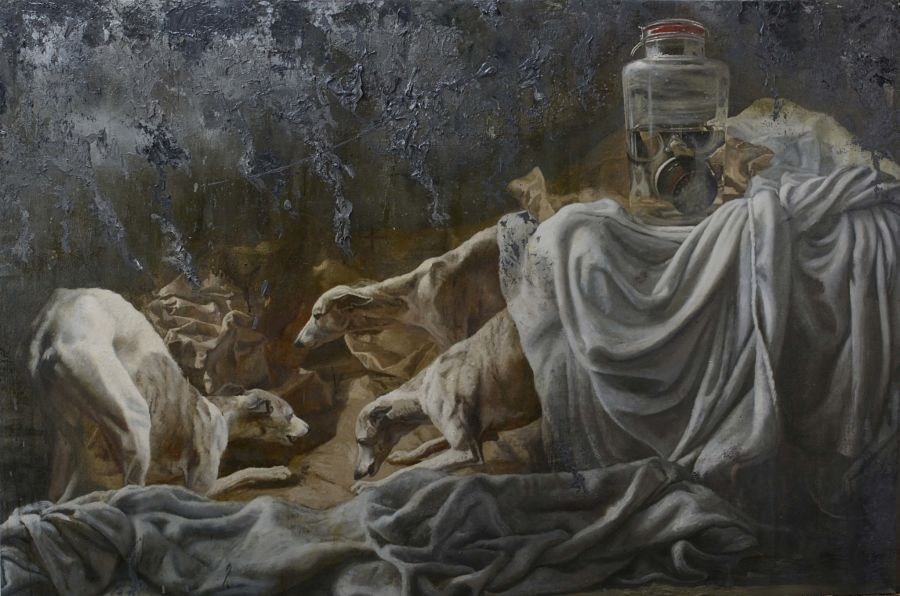 Miguel Escobar surreal animal paintings