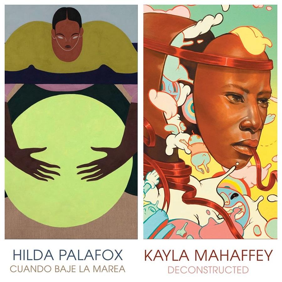 Virtual Events: Hilda Palafox + Kayla Mahaffey at Thinkspace