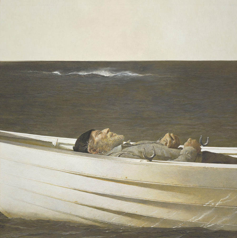 andrew wyeth adrift painting