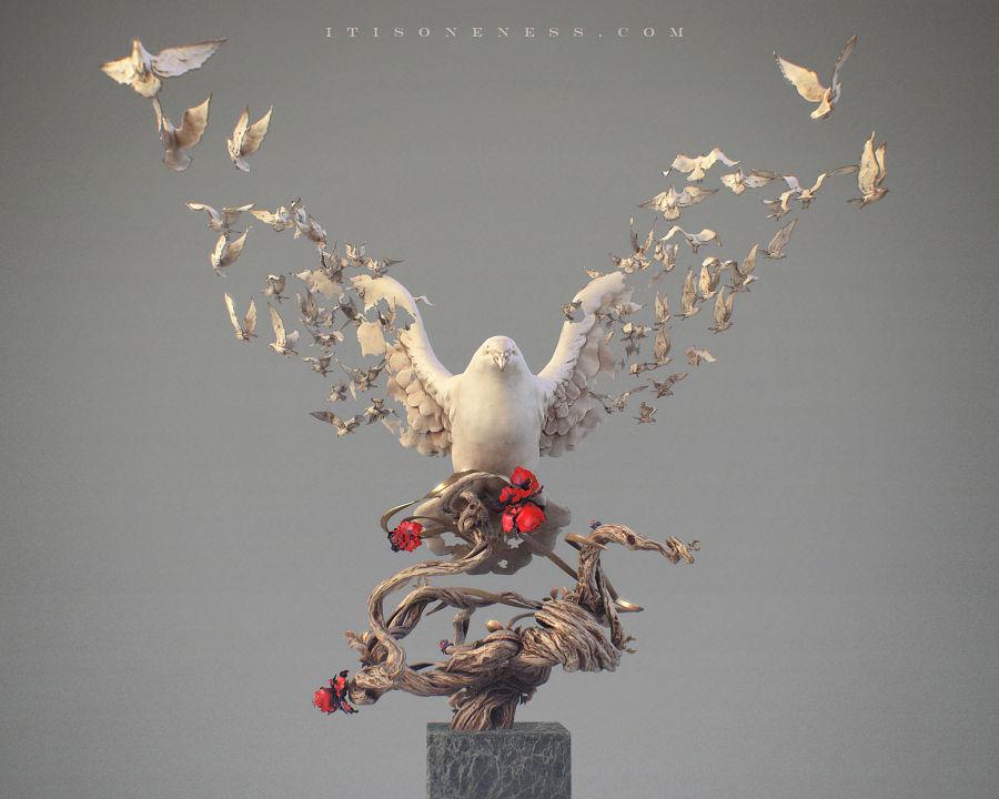 Yuuki Morita Ethereal Digital Art
