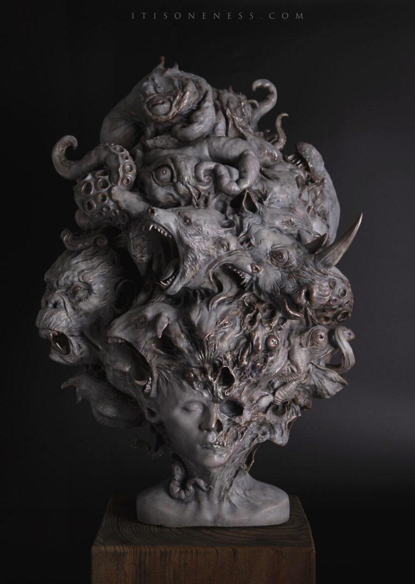 Yuuki Morita Etereal Sculpture