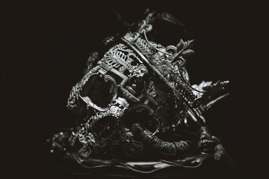 Allain Bellino dark art sculpture at Naia Museum