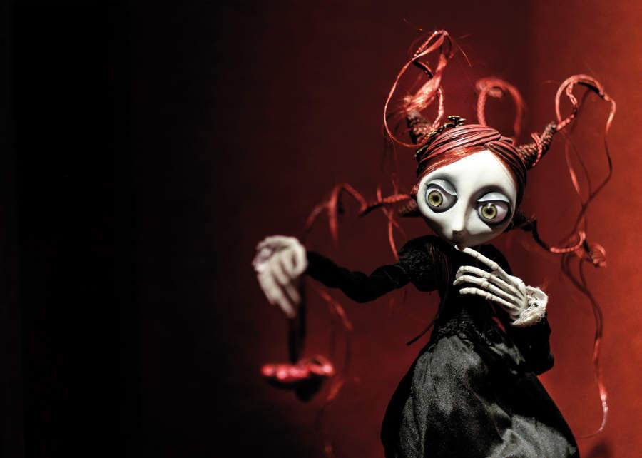 Christine Polis dolls at Naia Museum