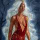 Foksynes Hecate goddess painting