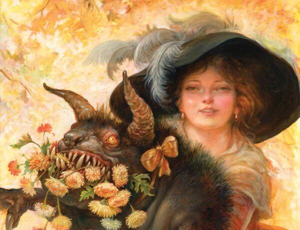 omar ryyan - pop surrealism monster painting