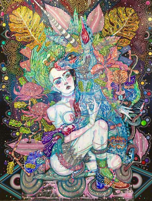 Del-Kathryn-Barton-painting