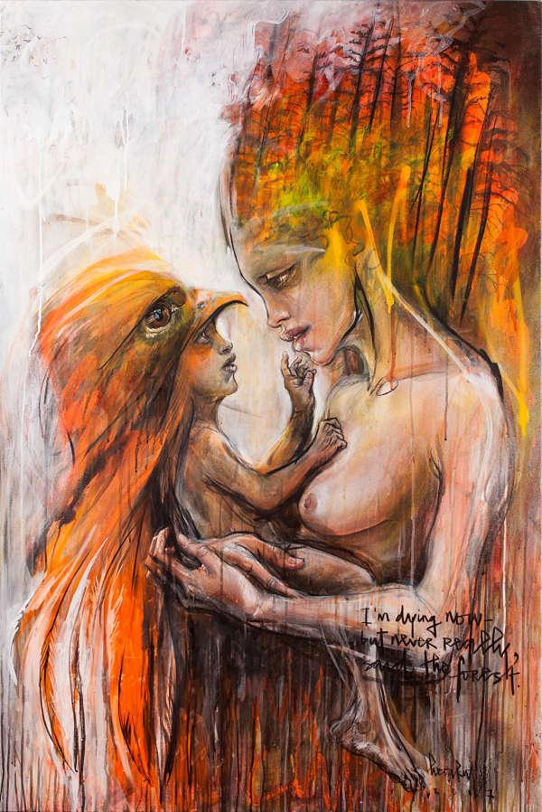 HERAKUT-paintings