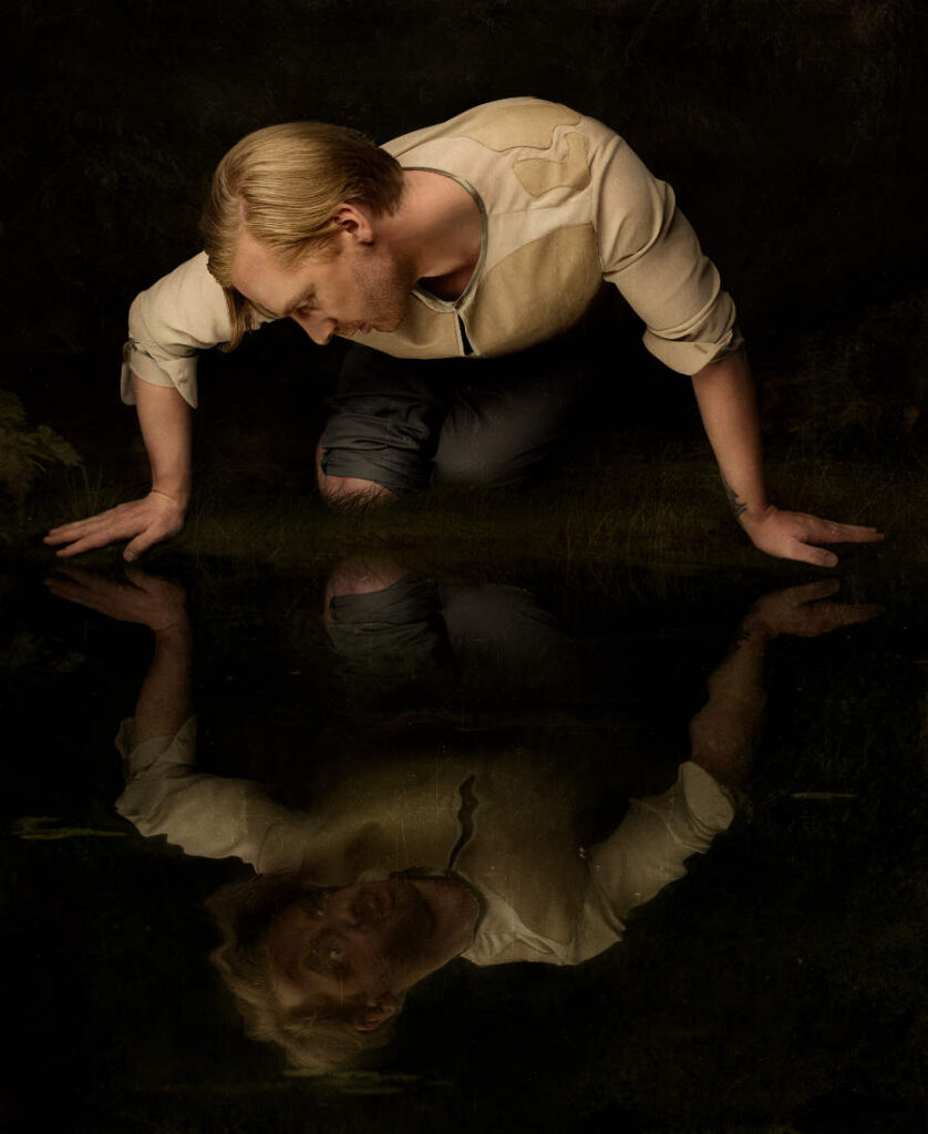 Sylwia Makris Narcissus fine art photography Wild Beasts