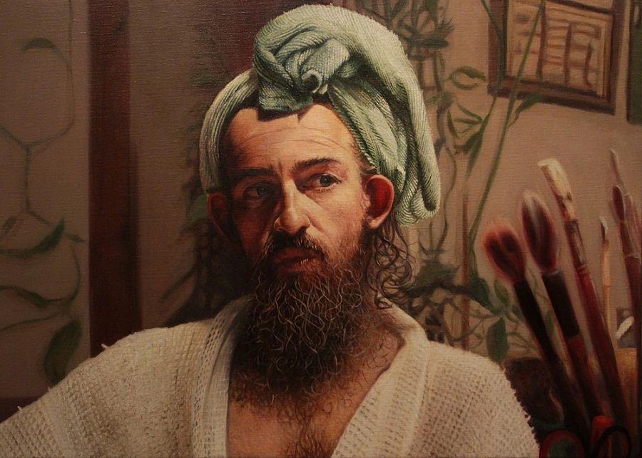 Tanya Atanasova Philip portrait painting PoetsArtists