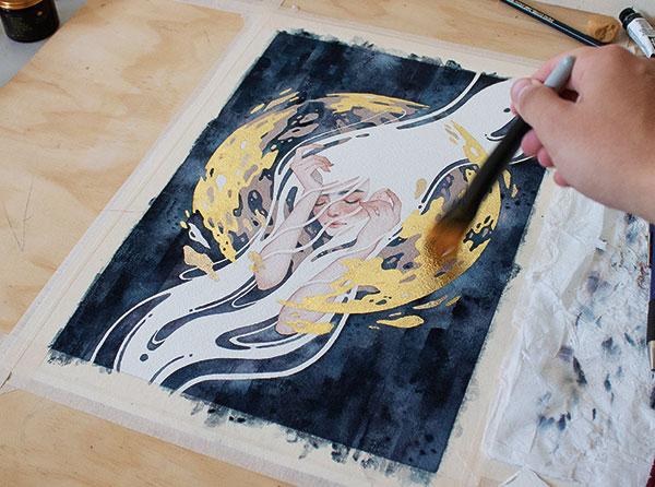 kelogsloops-painting-process
