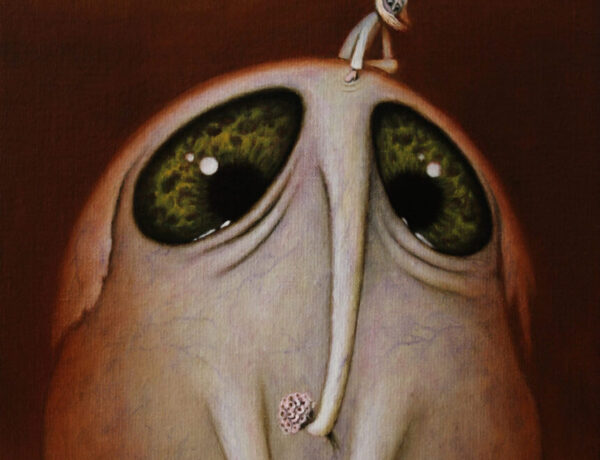 August-Vilella - The elephant - pop surrealism painting