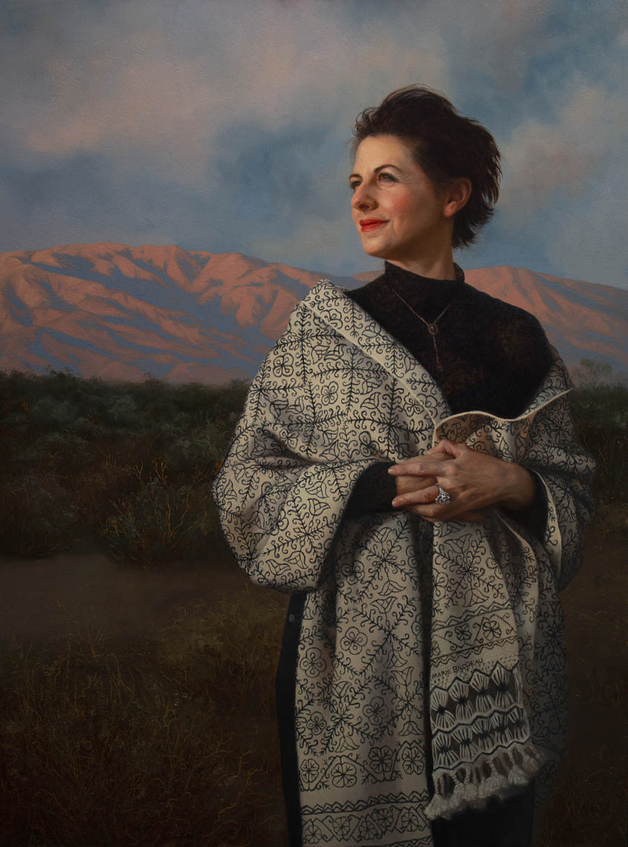 Brianna Lee realism figurative portrait