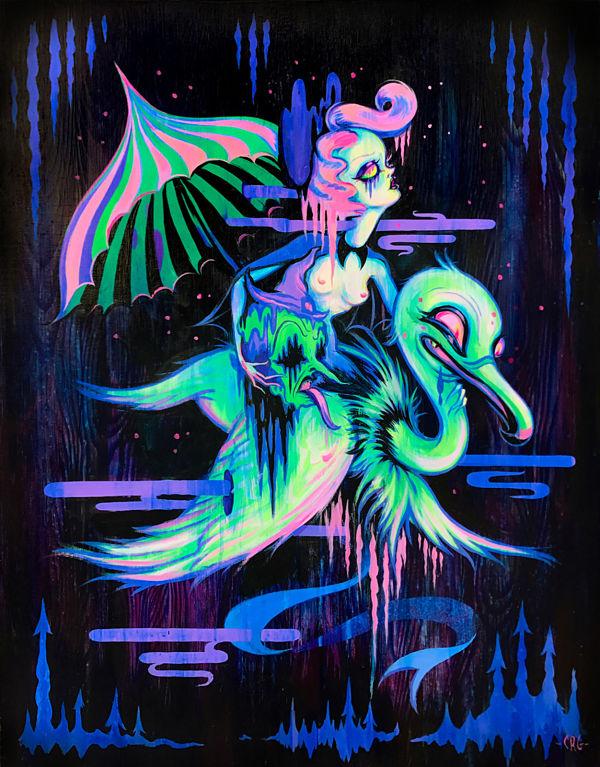 Camille-Rose-Garcia-painting