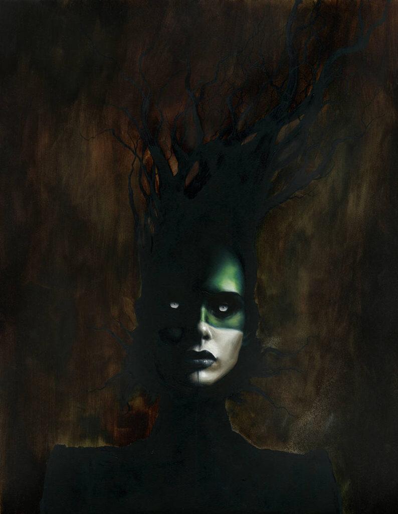 Menton3 dark art portrait