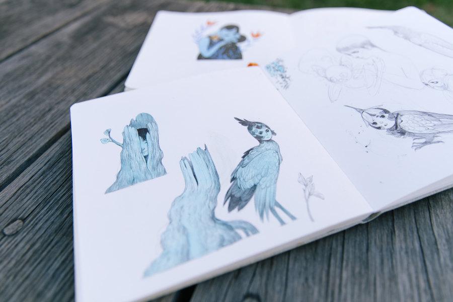 Rachel Suggs sketches
