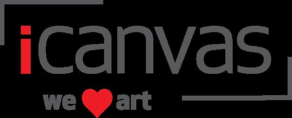 iCanvas heart logo