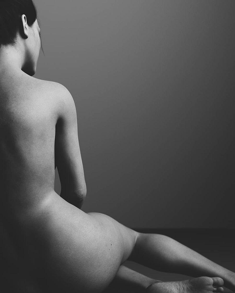 black & white nude figure dark artistry of judhakrist