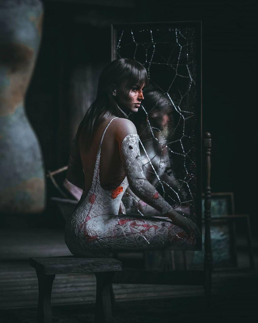 haunted broken mirror dark artistry of judhakrist