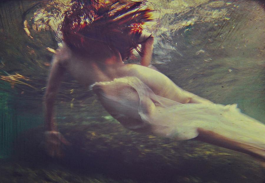 Natalia Kovachevski underwater bottom beautiful bizarre
