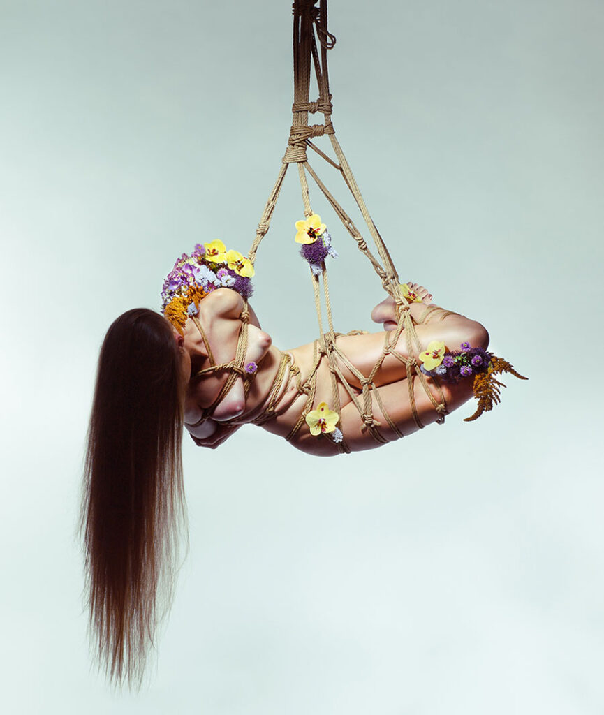 Aaron McPolin rope bondage beautiful bizarre