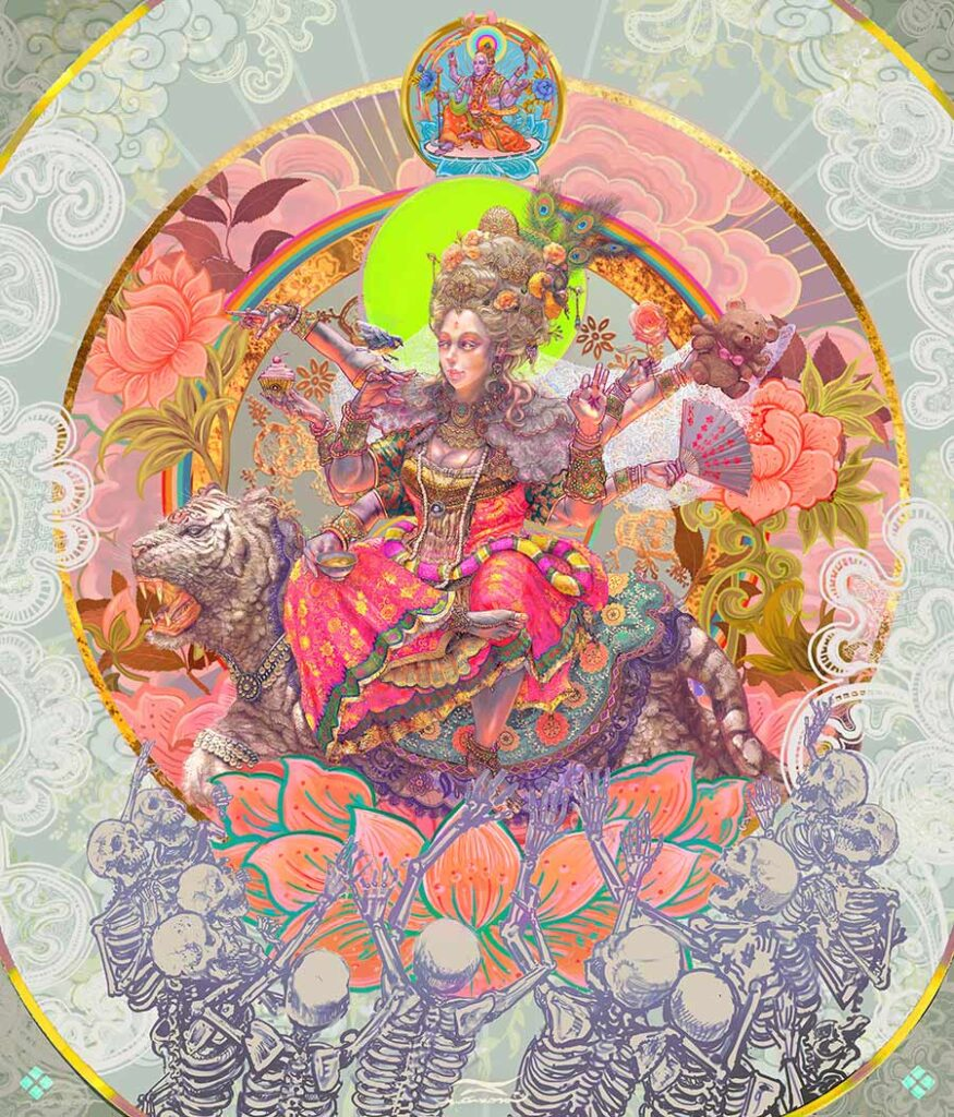 Payakaraj deity  beautiful bizarre