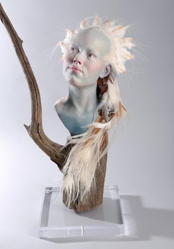 Margarete Adler fairy bust sculpture Yasha Young