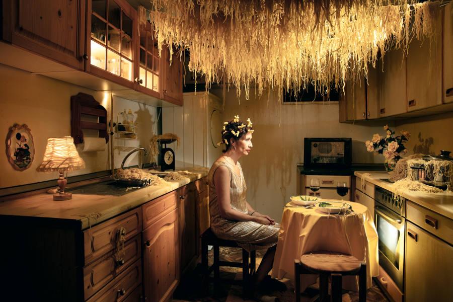 Seb Agnew spaghetti portrait