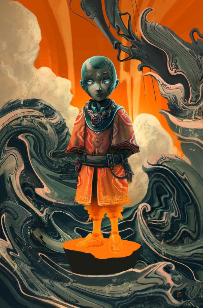 Patricio Clarey boy monk